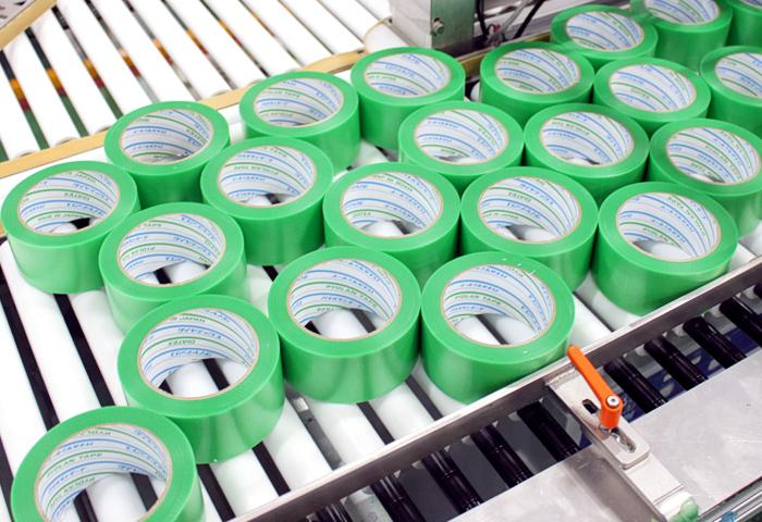 粘着テープ製造工程
